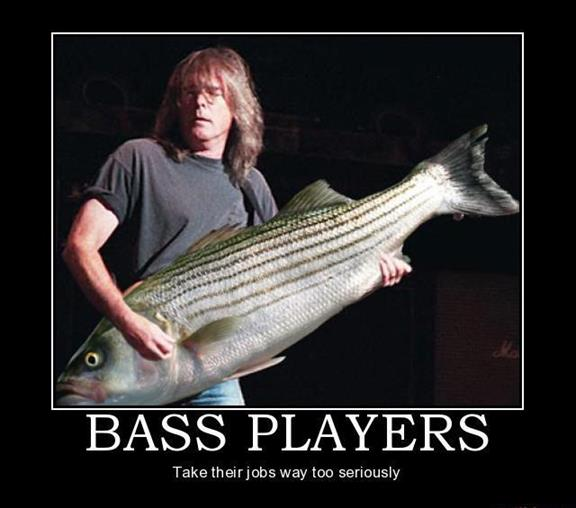 Bass Guitar Meme Fish