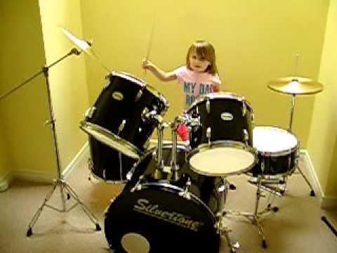 Littles Girl Drummer