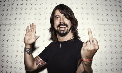 Save Grohl Middlefinger